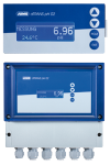 JUMO dTRANS pH 02 – Compact multichannel transmitter/controller for pH, redox, ammonia, standard signals, and temperature, 202551