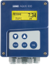 JUMO AQUIS 500 pH – transmitter / controller for pH, ORP, NH3 (ammonia) concentration and temperature, 202560