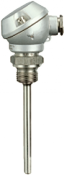 Mineral-insulated thermocouples with terminal head, form J, as per DIN 43 710 and DIN EN 60 584 (90.1230)