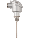 JUMO Etemp B, screw-in RTD temperature probe with terminal head Form B, for standard applications (90.2023)