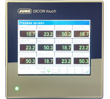 JUMO DICON touch – Configured as 12 Channel Wireless Monitor with Paperless Recording and Touchscreen (703571)