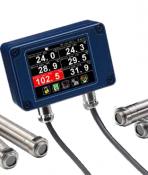 CALEX PM180 Series 6-channel Modbus Pyrometer Hub with Data Logging
